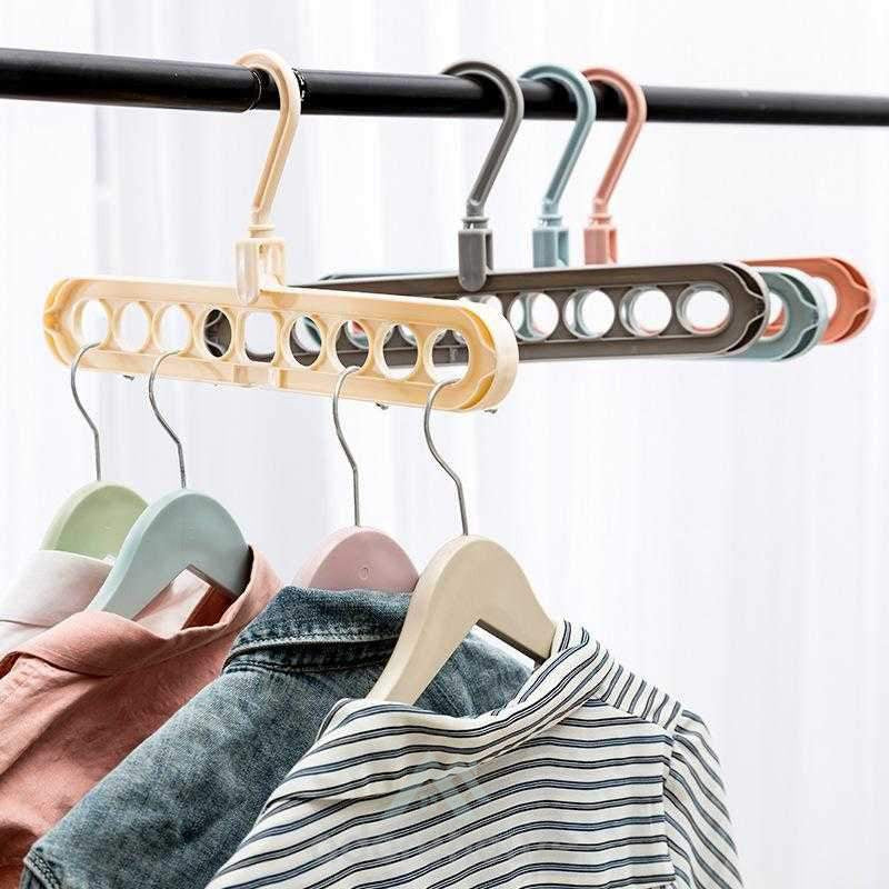Multi-Functional Creative Rotate Clothes Rack-Clothes & Quilts Storage-Adorehouse.com