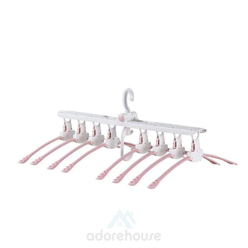 Portable 8 in 1 Foldable Magic Clothes Hanger-Clothes & Quilts Storage-Adorehouse.com