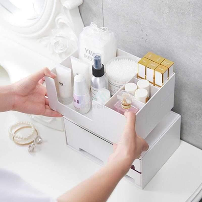 Plastic Drawer Cosmetic Storage Box-Jewelry & Makeup Storage-Adorehouse.com