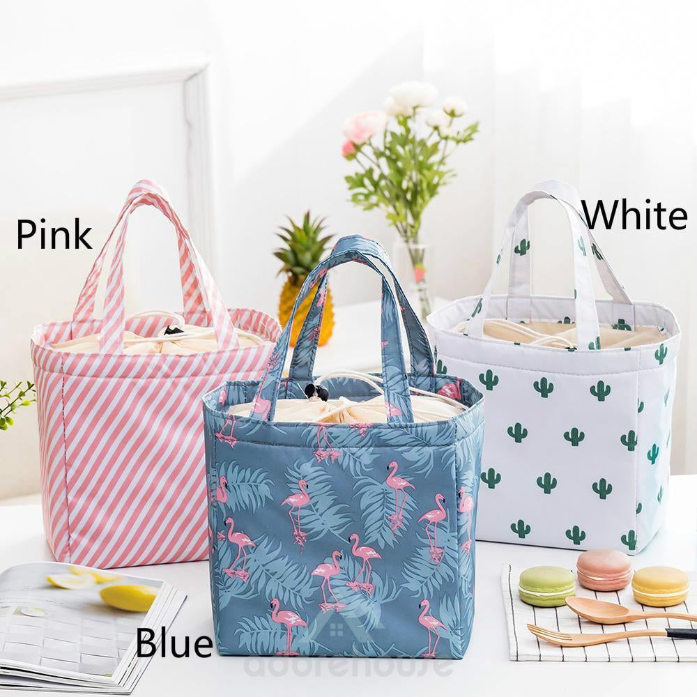 Waterproof Lunch Tote Bag Picnic Bag Cooleulater Insd Handbag-Lunch Bag-Adorehouse.com
