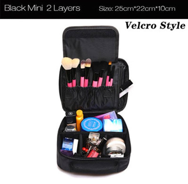 Profession Makeup Case Fashion Beautician Cosmetics Organizer Storage Box
