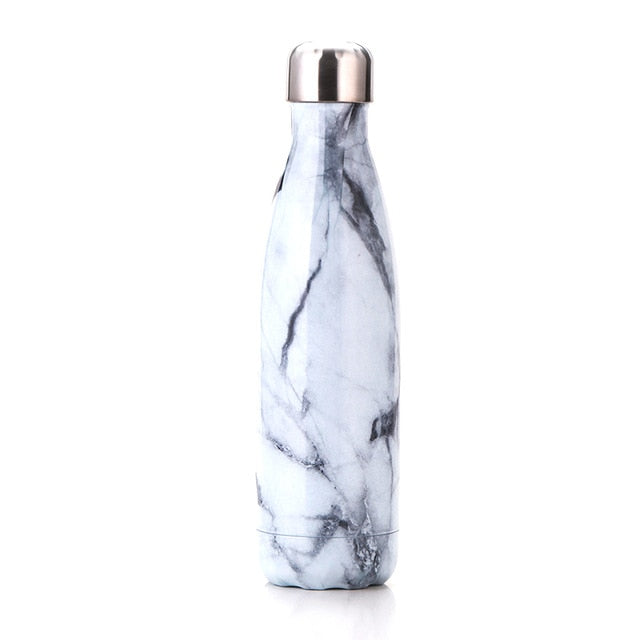 500ML Water Bottle Vacuum Insulated Thermal Sports Flask Warm Cup