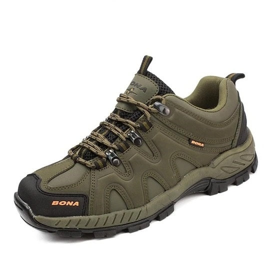 Adorehouse Classics Style Men Hiking Shoes Lace Up Men