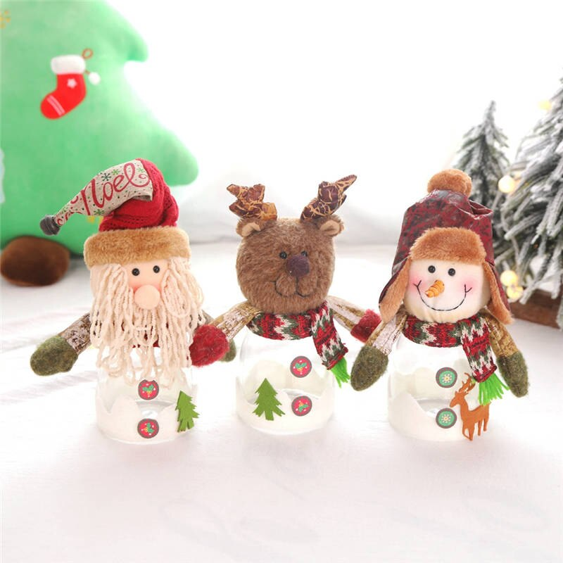 Christmas Hanging ornament decoration Exquisite Transparent Candy Jar