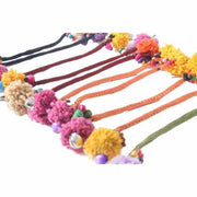 10 Pack Pom Pom Zipper Decoration (DIY) - Thailand-Decor-Lumily Fair Trade