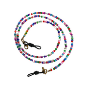 Convertible Seed Bead Mask Chain | Bracelet (Multicolor) - Thailand-Accessories-Lumily