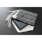 Embroidered Clutch W/ Leather - Thailand-Shop All-Lumily