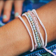 Anita Bead and Chain Wrap Bracelet | Necklace - Thailand-Shop All-Lumily