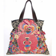 Applique Large Tote - Thailand-Bags-Lumily