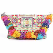 Embroidered Star Clutch Bag - Thailand-Shop All-Lumily