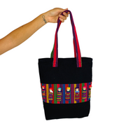 Worry Doll Shoulder Tote - Guatemala-Shop All-Lumily