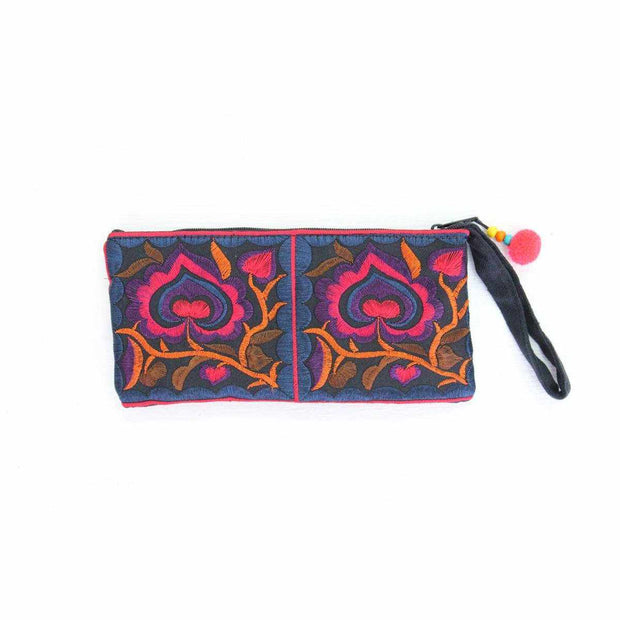 Hmong Rectangle Wristlet - Thailand