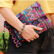 Gitane Huipil Upcycled Wristlet - Guatemala-Shop All-Lumily