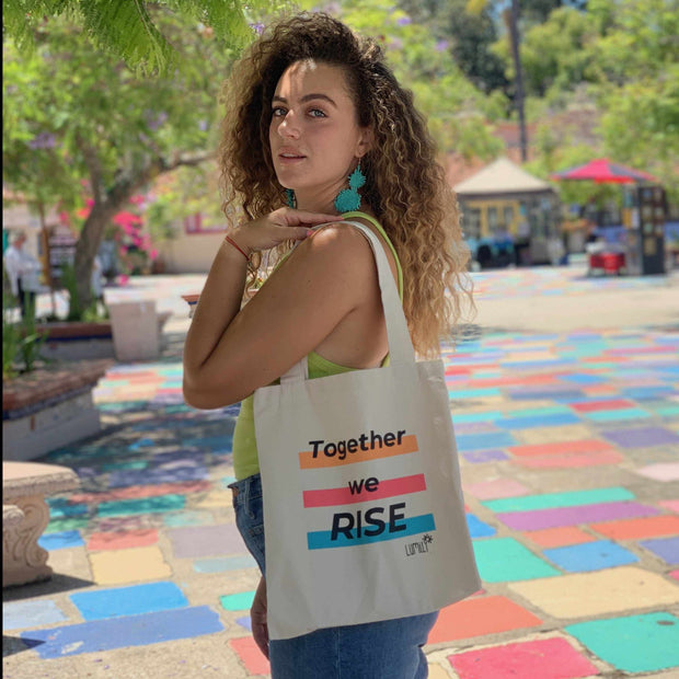 Together We Rise Limited Edition Tote - Guatemala-Shop All-Lumily