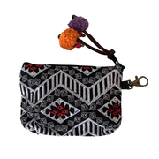 Ethically Handmade Geometric Coin Purse - Thailand-Bags-Lumily