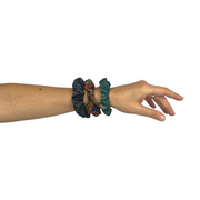 Corte Upcycled Scrunchie 2-Pack - Guatemala-Shop All-Lumily