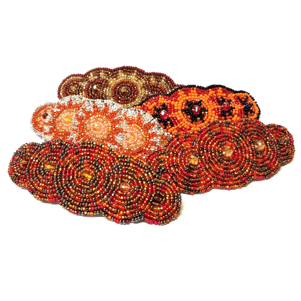Andrea Seed Bead Barrette - Guatemala-Shop All-Lumily Fair Trade