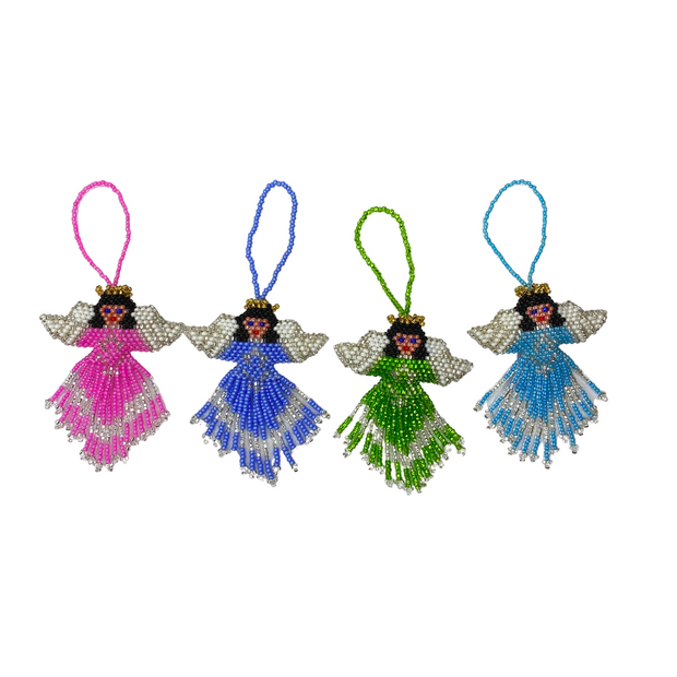 Angel Beaded Ornament - Guatemala-Shop All-Lumily