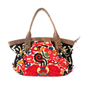 Artista Applique Leather Purse - Thailand-Shop All-Lumily Fair Trade