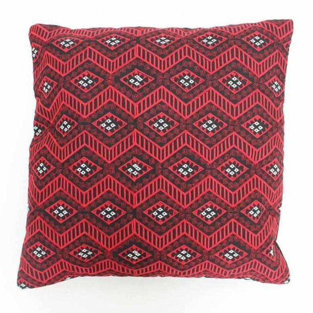 Bangkok Diamond Embroidered Pillow Cover - Thailand-Shop All-Lumily Fair Trade
