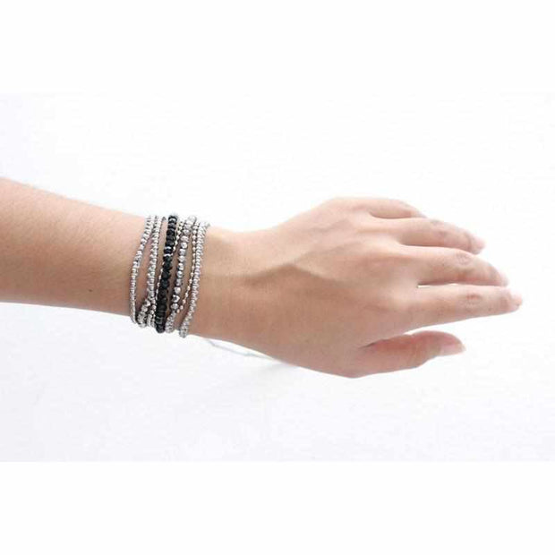 Bead and Chain Wrap Bracelet - Thailand-Shop All-Lumily Fair Trade