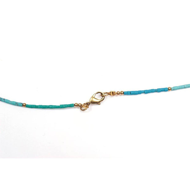 Bohemian Handcrafted Necklace | Bracelet (Blue) - Thailand-Jewelry-Lumily Fair Trade