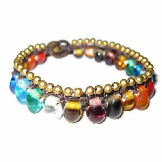 Bubble Adjustable Bracelet - Thailand-Shop All-Lumily Fair Trade