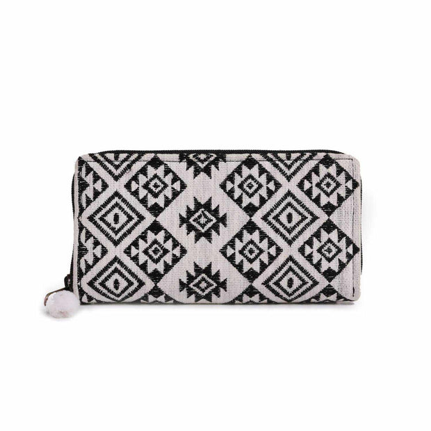 Diamond Star Embroidered Wallet - Thailand-Bags-Lumily