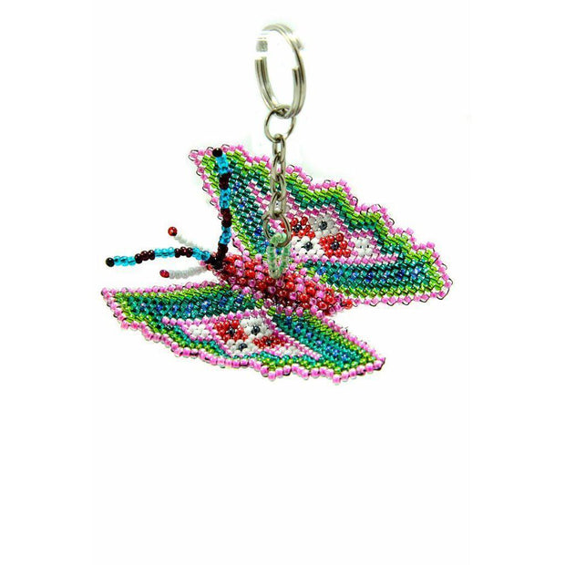 Butterfly Key Chain - Guatemala-Shop All-Lumily Fair Trade