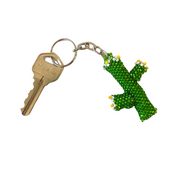Cactus Key Chain - Guatemala-Shop All-Lumily