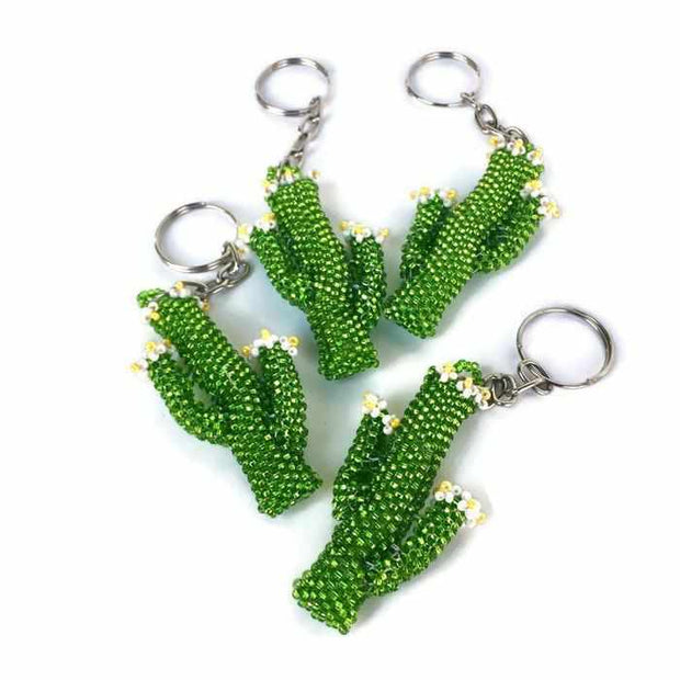 Cactus Key Chain - Guatemala-Shop All-Lumily Fair Trade