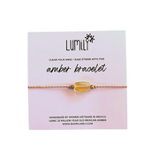 Carded Erica Amber Pull String Bracelet - Mexico-Shop All-Lumily Fair Trade