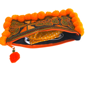 Pom Pom Wristlet (Assorted) - Thailand-Bags-Lumily
