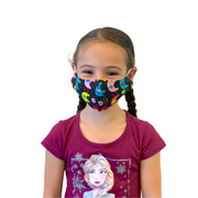 Child 2-4 Reusable Face Mask with Filter Pocket 100% Cotton - Thailand-Apparel-Lumily Fair Trade
