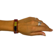 Chula Leather Bracelet - Guatemala-Shop All-Lumily