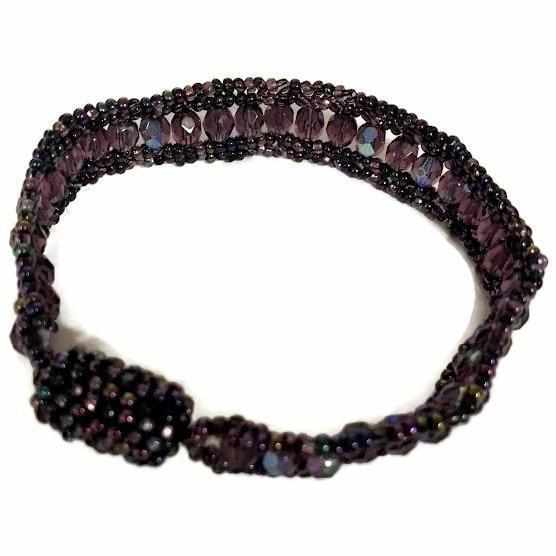 Confetti Magnetic Beaded Bracelet - Guatemala-Shop All-Lumily Fair Trade