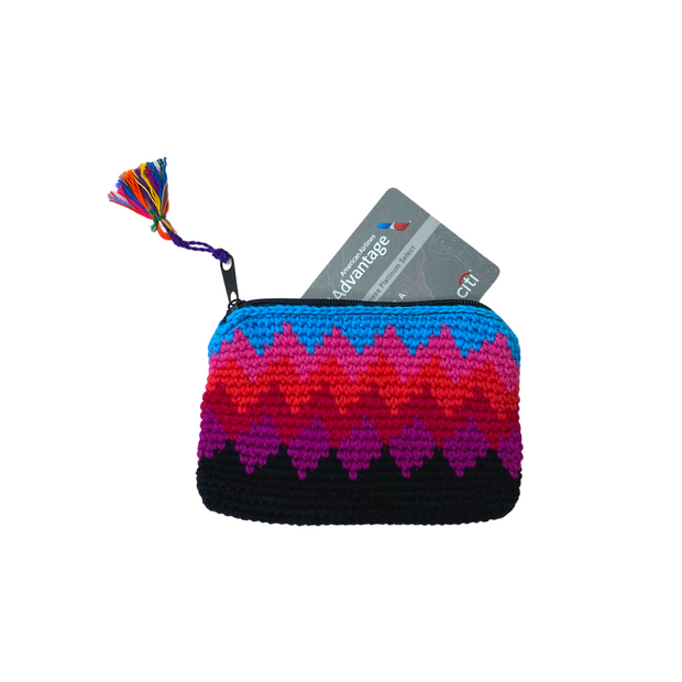 Crochet Coin Purse - Guatemala-Shop All-Lumily