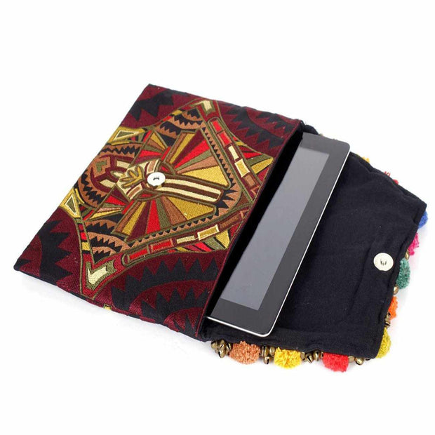 Tribal Clutch Bag - Thailand-Bags-Lumily