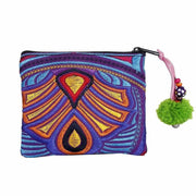 Embroidered Coin Purse - Thailand-Bags-Lumily Fair Trade