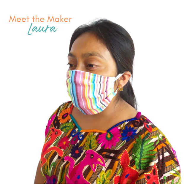 Festival Pleated Face Mask with Filter Pocket - Guatemala-Apparel-Lumily