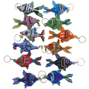 Fish Key Chain - Guatemala-Shop All-Lumily