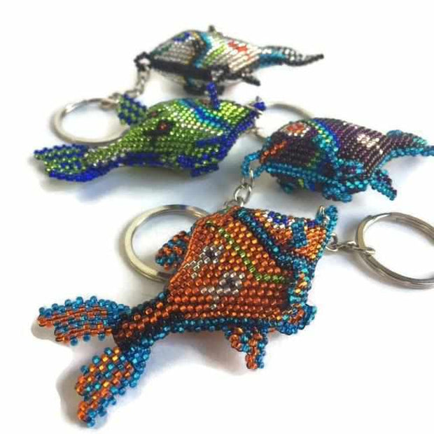 Fish Key Chain - Guatemala-Shop All-Lumily Fair Trade
