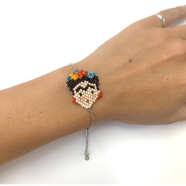 Frida Beaded Bracelet - Mexico-Jewelry-Lumily Fair Trade