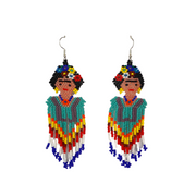 Frida Earrings (Large) - Mexico-Jewelry-Lumily