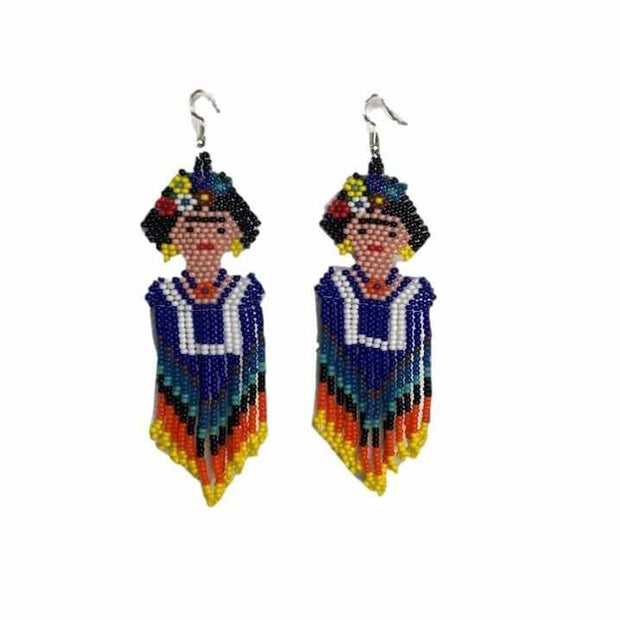 Frida Earrings (Large) - Mexico-Jewelry-Lumily Fair Trade
