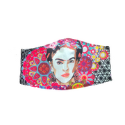 Frida Kahlo face mask face cover reusable fair trade