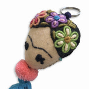 Frida Kahlo Keychain / Zipper Pull - Mexico-Shop All-Lumily Fair Trade