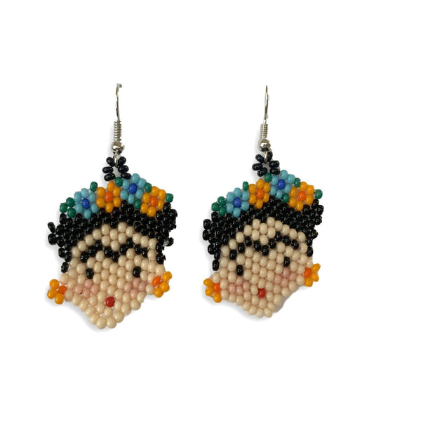 Frida Kahlo Earrings - Mexico-Jewelry-Lumily Fair Trade