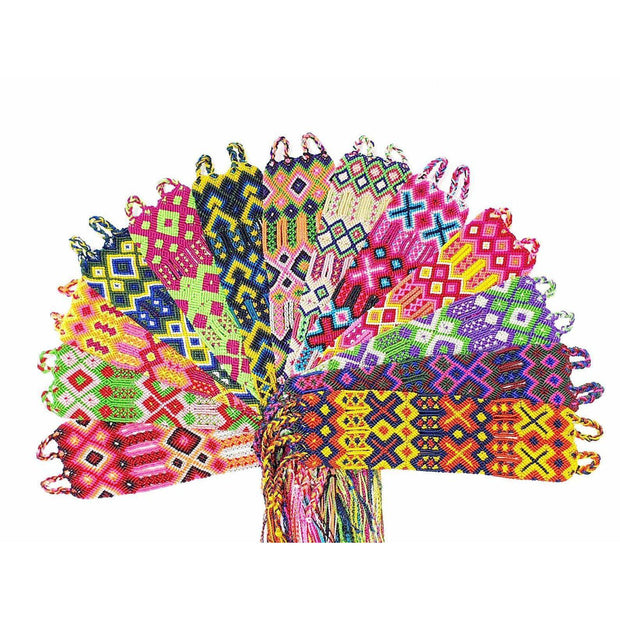 Friendship Woven Bracelet (4 Sizes) - Mexico