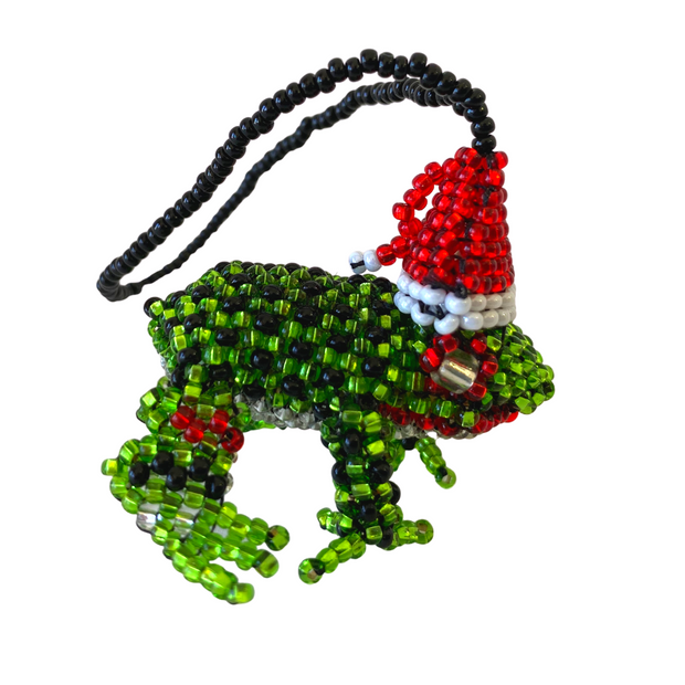Frog Ornament - Guatemala-Shop All-Lumily